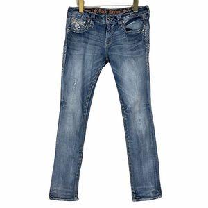 ROCK REVIVAL Barbila Straight Leg Jeans 29